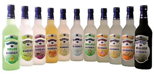 La vodka détrône le whisky, leader historique sur le marché des alcools forts