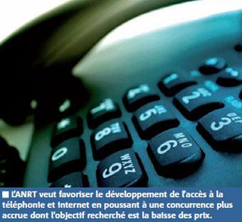 Télécoms : nouvelle licence fixe, 36 millions d'abonnés et des prix bas d'ici 2013