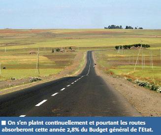 Routes nationales, voies rapides, routes rurales, autoroutes…, ce qui est prévu cette année