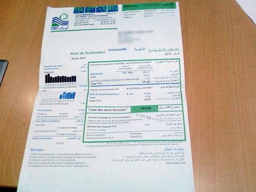 facture lydec