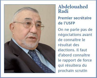 Abdelouahed Radi: L'USFP est prête  à dialoguer avec tous les partis