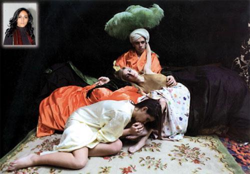 "Les surprenants ""clichés"" orientalistes deMajida Khattari!"