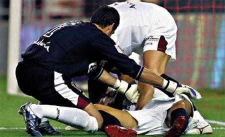 Les principales urgences dans les stades de football