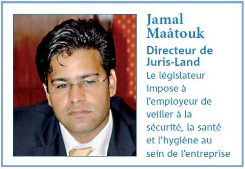 Entreprise sans tabac : Entretien avec Jamal Maà¢touk, Directeur de Juris-Land