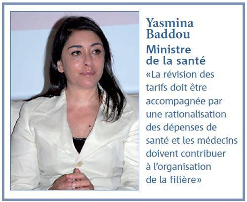 Tarifs Amo : le deal que propose Yasmina Baddou aux médecins