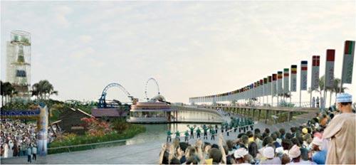 Dans trois ans, Casa aura enfin un parc d'attraction digne de ce nom