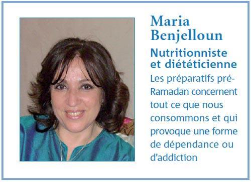 Comment rester productif durant ramadan : Avis de Maria Benjelloun, Nutritionniste et diététicienne