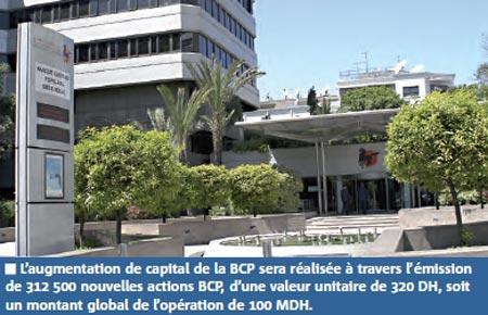 L'absorption de la BP Casa par la BCP entérinée dans un mois