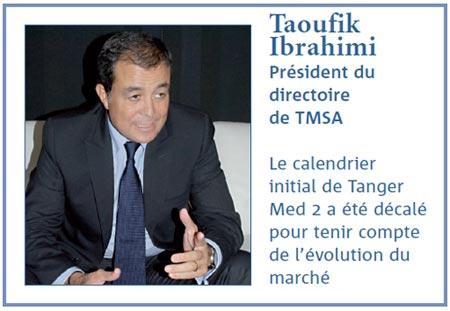 Taoufiq Ibrahimi : Tanger Med fait désormais partie des ports de renommée mondiale