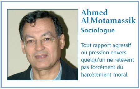 Comment réagir lorsqu'on est dans le collimateur du chef : Interview avec Ahmed Al Motamassik, Sociologue