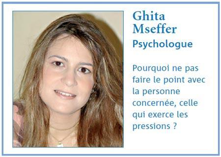 Comment réagir lorsqu'on est dans le collimateur du chef : Interview avec Ghita Mseffer, Psychologue