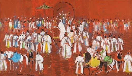 Hassan El Glaoui: le tour d'un pinceau en soixante ans