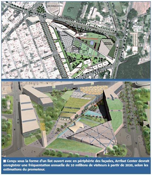 Bureaux, cinémas, commerces, jeux… , Arribat center, un méga projet de 2 milliards de DH