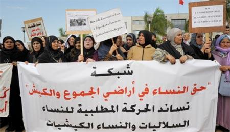 Privées des indemnités de cession des terres collectives : l'Intérieur leur rend leurs droits