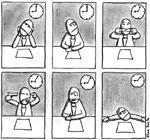 Lorsque l'ennui s'installe au travail…