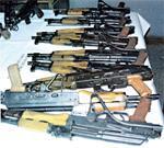 D'où viennent les armes, par où elles sont entrées