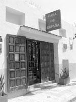La Â«Casa de Espana» fermée