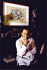 Qotbi, le virtuose des arabesques, expose à Casa
