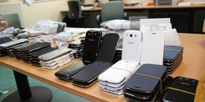 Des Smartphones chinois d'une valeur de 5 millions de dirhams saisis à Casablanca.