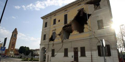 Le nord de l'Italie frappé par un nouveau séisme