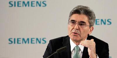Joe Kaeser prend les commandes de Siemens