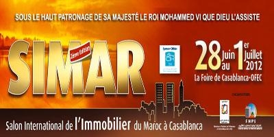 Casablanca : Le salon de l'immobilier SIMAR 2012, du 28 juin au 1er juillet