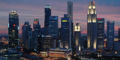 Singapour : 17.1 millionnaires pour 100 habitants