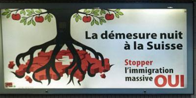 Les Suisses rejettent l'immigration de masse