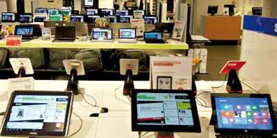 Augmentation de 165% des importations de tablettes !