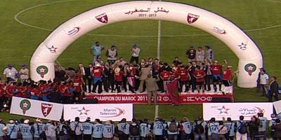 Le Moghreb Tétouan sacré champion du Maroc pour la première fois de son histoire