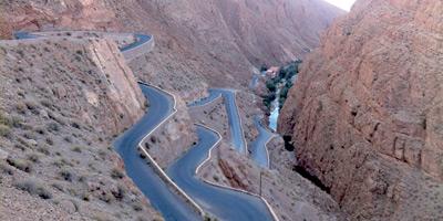 Enfin un projet pour sécuriser la route reliant Marrakech à Ouarzazate