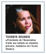 Touraya Bouabid : Â«L'à‰tat nous fait confiance plus que  les sponsors ou les entreprises privées»