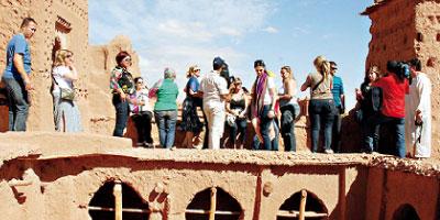 Plus de 164 000 touristes à Ouarzazate durant le 1er semestre 2014