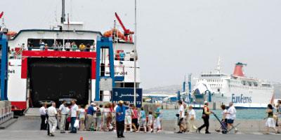 Le trafic portuaire de passagers a crû de 3% en 2013