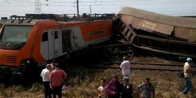 Bilan du déraillement du train : un mort et 32 blessées légers