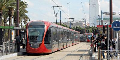 Tramway de Casablanca : 17,3 millions de personnes transportées au premier semestre