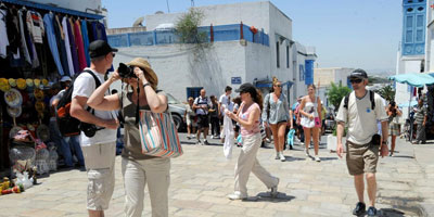 Tunisie: baisse de plus de 36 pc des touristes au premier semestre