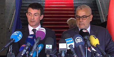 Entretien entre Benkirane et Valls à Rabat