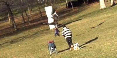 Une vidéo canular d'un enfant attaqué par un aigle au Canada affole le web