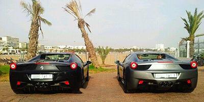 voiture de luxe marocaine