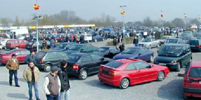La vente de voitures d'occasion ne prend  pas chez les concessionnaires !