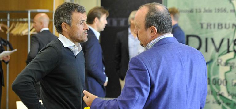 Espagne – Real-Barça : Benitez et Luis Enrique, la glace et le feu