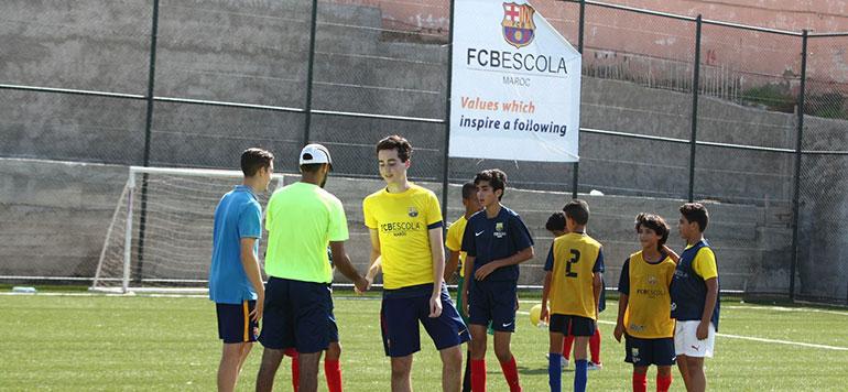 Le FC Barcelone ouvre officiellement son école de foot à Casablanca