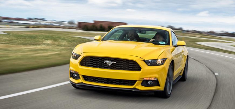 Ford Mustang élue voiture de l'année au Moyen-Orient
