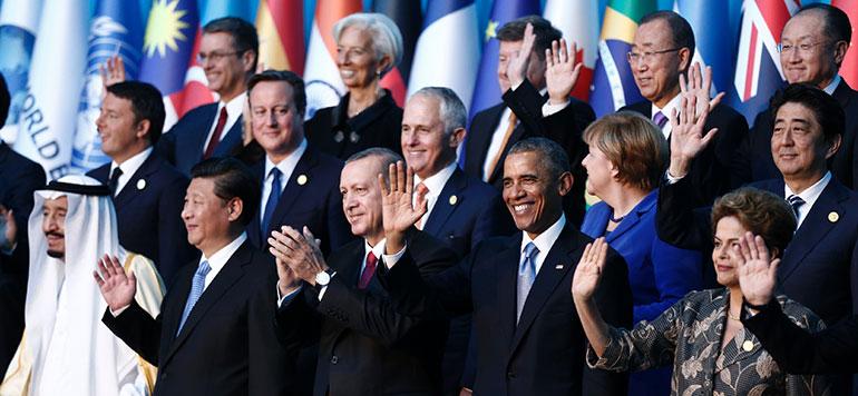 Vidéo : Après les attentats de Paris, le G20 unanime pour renforcer la lutte contre le terrorisme