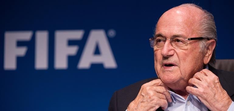 Selon Blatter, des tirages au sort ont été truqués en Europe