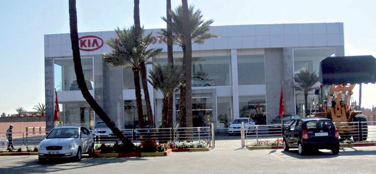 Kia s'installe à Agadir