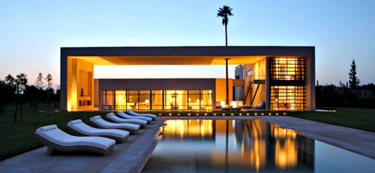La villa marocaine parue  dans le film «Spectre» mise en vente à 43 MDH
