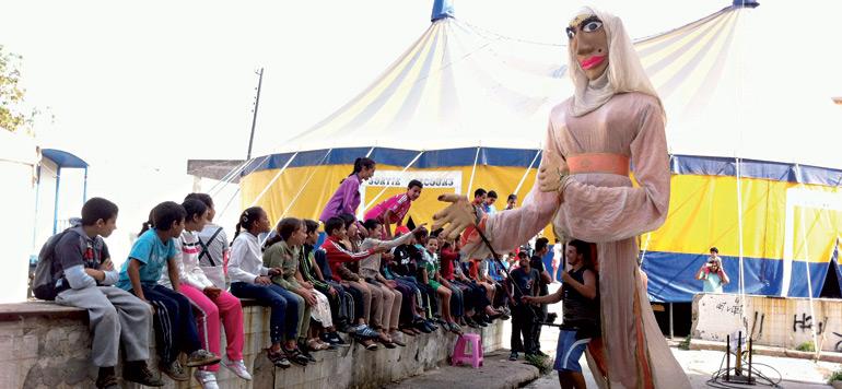 Le Théâtre Nomade donne vie aux anciens abattoirs