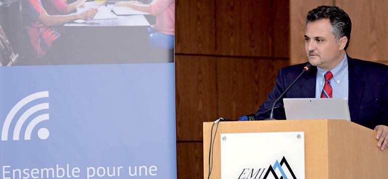 Microsoft Maroc installe le wifi à l'EMI